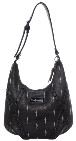 Sourpuss Daggers Hobo Purse