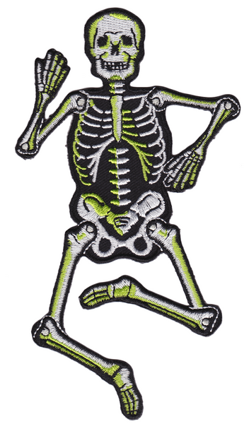 Sourpuss Dancing Skeleton Patch