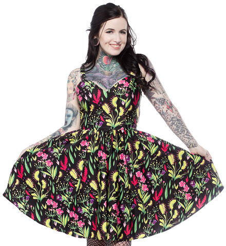 Sourpuss Deadly Beauties Sophia Dress