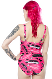 Sourpuss Death Cab One Piece Swimsuit