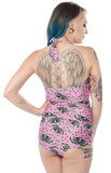 Sourpuss Death Moth Swimsuit