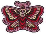 Sourpuss Deaths Head Moths Patch