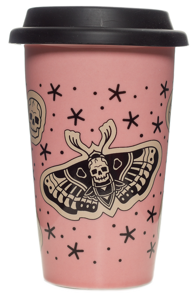 Sourpuss Death Moth Tumbler