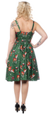 Sourpuss Deer Me Sweets Dress Pine
