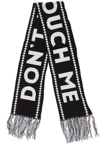 Sourpuss Don't Touch Me Knit Scarf
