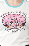 Sourpuss Donut Worry Crop Tank