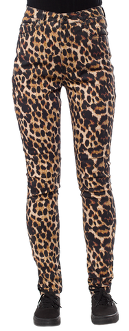 Sourpuss Essential 5 Pocket Pants Leopard