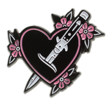 Sourpuss Feelin' Stabby Enamel Pin