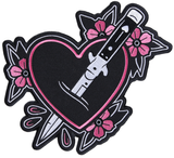 Sourpuss Feelin' Stabby Oversize Patch