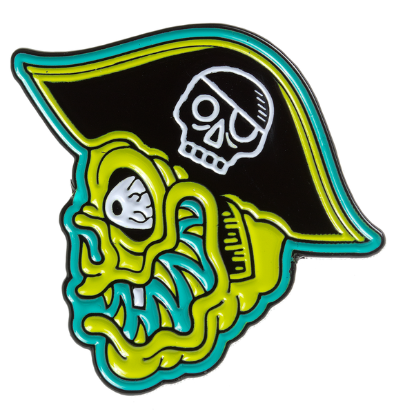 Sourpuss Fink Island Enamel Pin