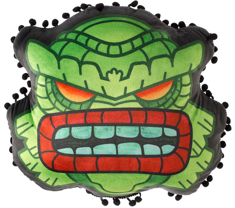 Sourpuss Fishman - Tiki Pillow