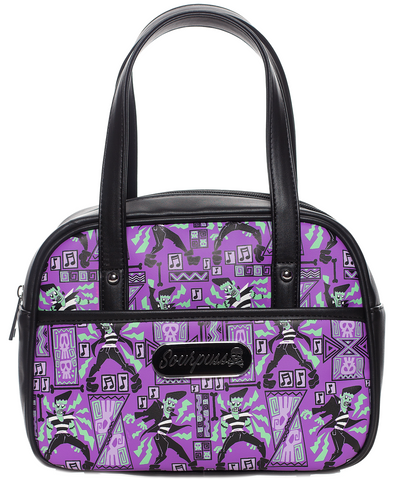 Sourpuss Frankie A Go Go  Mini Bowler Purse