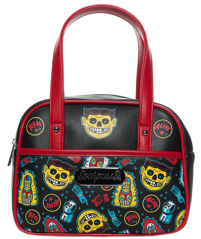 Sourpuss Freak Show Mini Bowler Purse