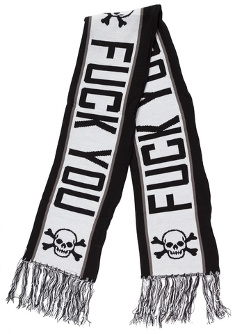 Sourpuss F*ck You Knit Scarf