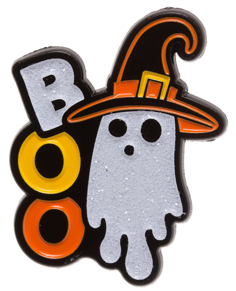 Sourpuss Ghost Witch Enamel Pin