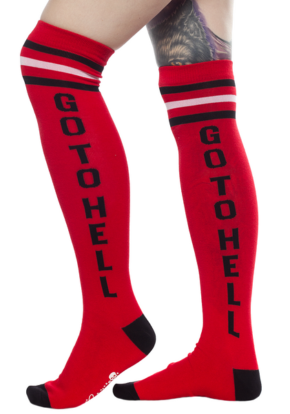 Sourpuss Go To Hell Socks