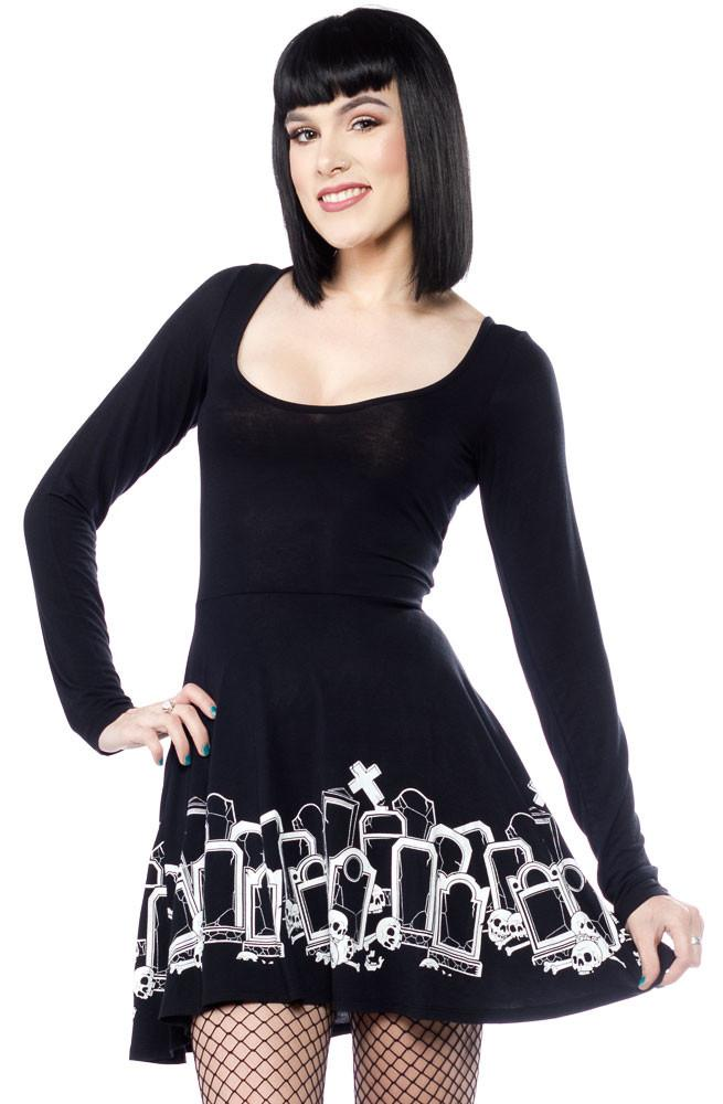 b26dbf1a1b Sourpuss Grave Digger Skater Dress – Sourpuss Europe