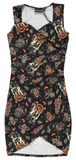 Sourpuss Hallow-Tiki Dress
