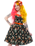 Sourpuss Hallow-Tiki Spooksville Dress