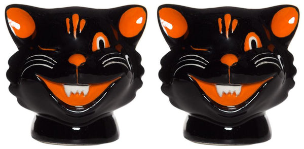 Sourpuss Cats Salt & Pepper Shakers