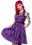 Sourpuss Haunted Diamond Veronica Dress