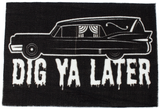Sourpuss Hearse Rug