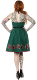 Sourpuss Hearts And Roses Spooksville Dress