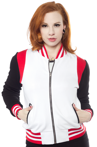 Sourpuss Hell Varsity Jacket