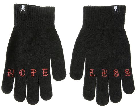 Sourpuss Hopeless Knit Gloves
