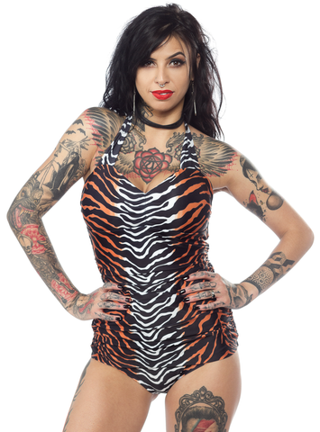 Sourpuss Jungle Princess Swimsuit