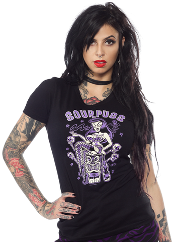 Sourpuss Jungle Princess Tee