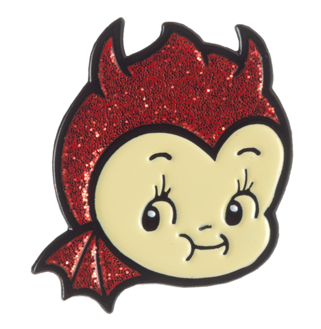 Sourpuss Cupie Devil Enamel Pin