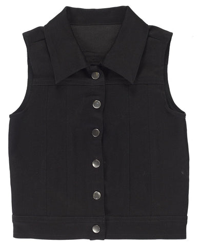 Sourpuss Kids Essential Black Vest
