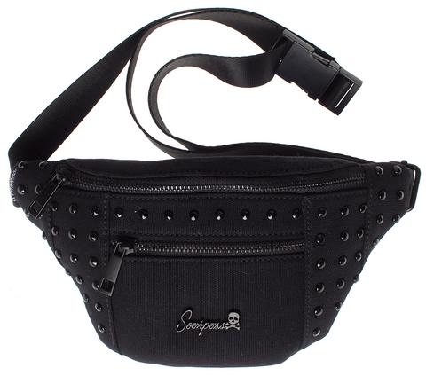 Leda Festival Hip Pack Black