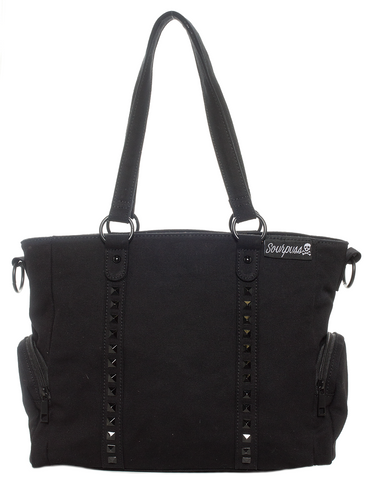 Soupuss Blackout Leda Stud Purse