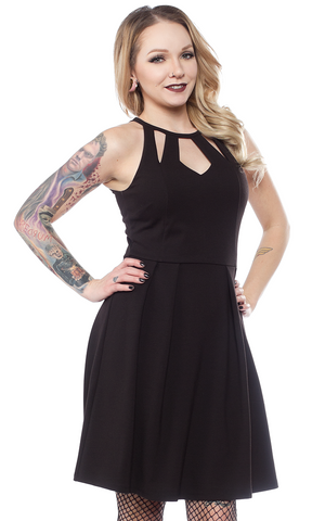 Sourpuss Little Black Diamond Dress