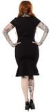 Sourpuss Little Black Wiggle Dress