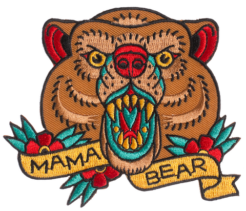 Sourpuss Mama Bear Patch