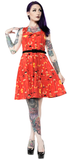 Sourpuss Midcentury Veronica Swing Dress