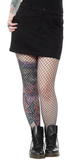 Sourpuss Five Pocket Mini Skirt Black