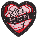 Sourpuss Mom Heart Patch