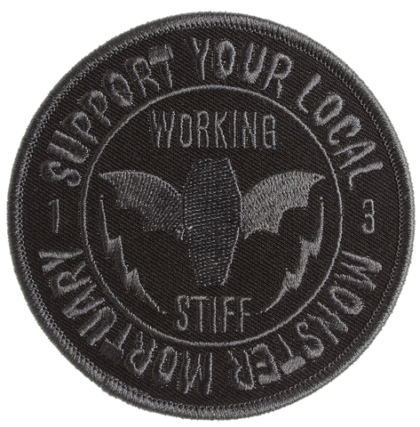 Sourpuss Monster Mortuary Patch