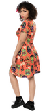 Sourpuss Monster Tiki Rosie Dress