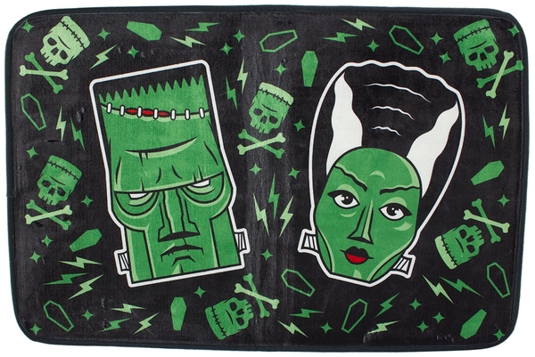 Sourpuss The Monsters Bath Mat