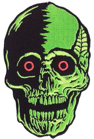 Ghoul Trouble Spook Yourself Skull Patch