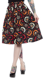 Sourpuss Over The Moon Swing Skirt