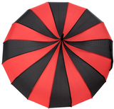 Sourpuss Pagoda Umbrella Black / Red