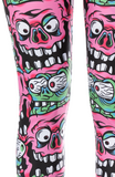 Sourpuss Pink Fink Leggings