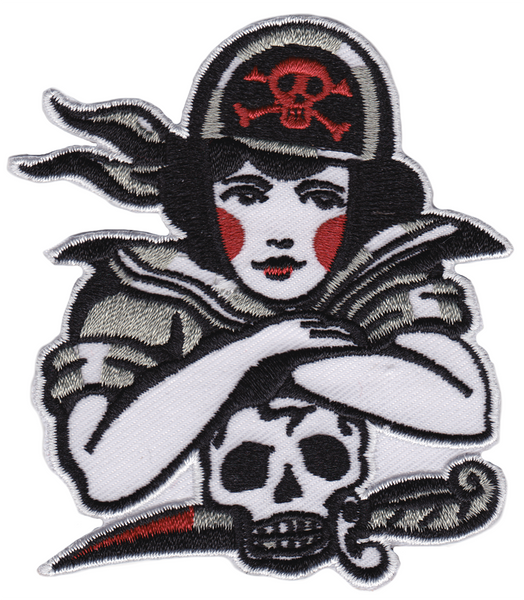 Sourpuss Pirate Gal Patch