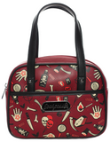 Sourpuss True Crime Mini Bowler Purse